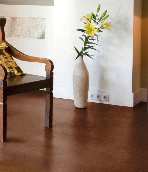 Cork Flooring - Mocha Burl Swirls - World Floors Direct
