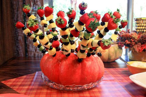 28 best fall home diy decor images on pinterest fall for Baby shower fruit decoration ideas