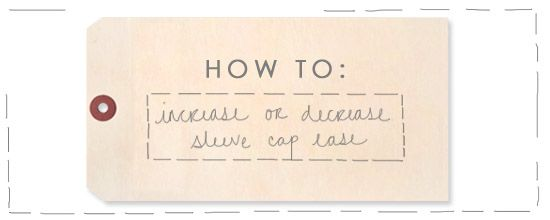 How-To: Increase or Decrease Sleeve Cap Ease - from http://www.madalynne.com/how-to-sleeve-cap-ease: Sewing Reference, Sewing Stuff, Sewing Techniques, Sewing Clothing, Sewing Ideas, Sewing Inspiration, Sewing Sleeve, Sewing Fun, Sewing Patterns