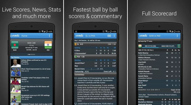 Free #Cricbuzz App review: Get latest #cricket #news and scores on phone