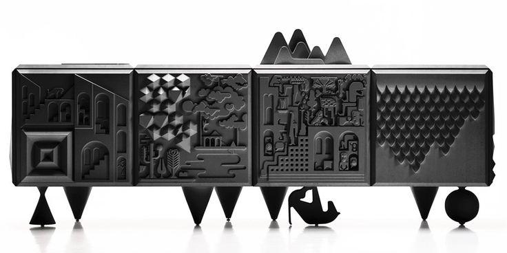 Tout Va Bien Cabinet (available in 2 colours)