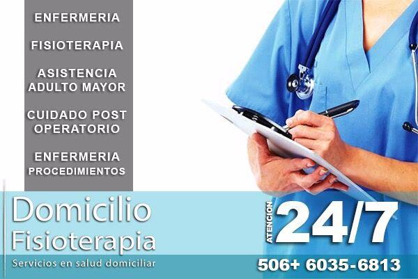 Domicilio Fisioterapia Te ofrece atención personalizada 24/7 📞 506+ 6035-6813 WhatsApp  Consulta por nuestros planes ajustados 8-16-24hrs los 3 turnos. #Enfermeria #Fisioterapia #Asistencia #TerapiaRespiratoria