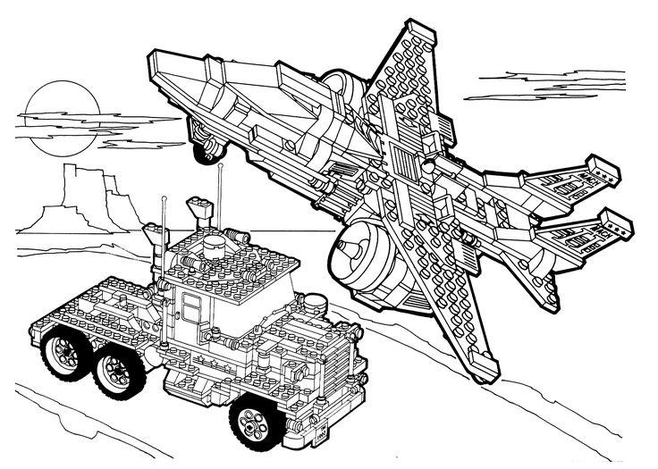 Malvorlagen Lego Technic Ausmalbilder