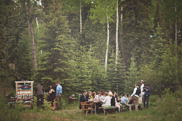 A Picnic in the Forest- 5 Things You Need For A Perfect Picnic Wedding on earlyivy.com