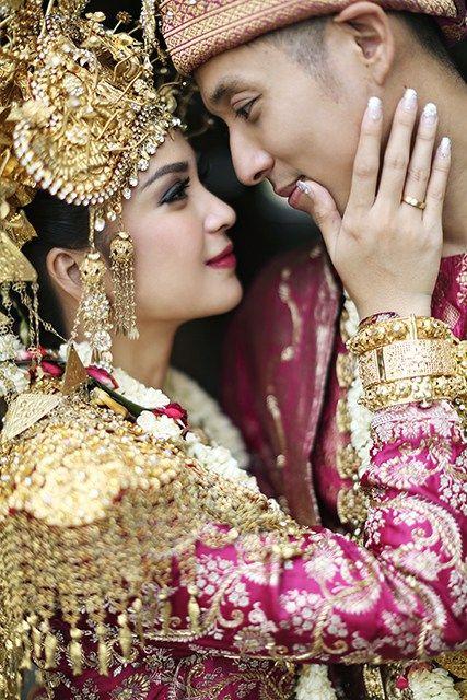 Pernikahan Putri Titian dan Junior Liem - axioo junior