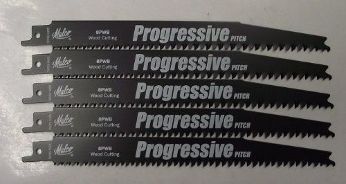 Malco 22848 8 Pruning Wood Reciprocating Saw Blades 5Pack Swiss ** For more information, visit image link.