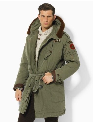 Ralph Lauren Rustic Hooded Parka for men - Jackets & Outerwear - PolosShops.com