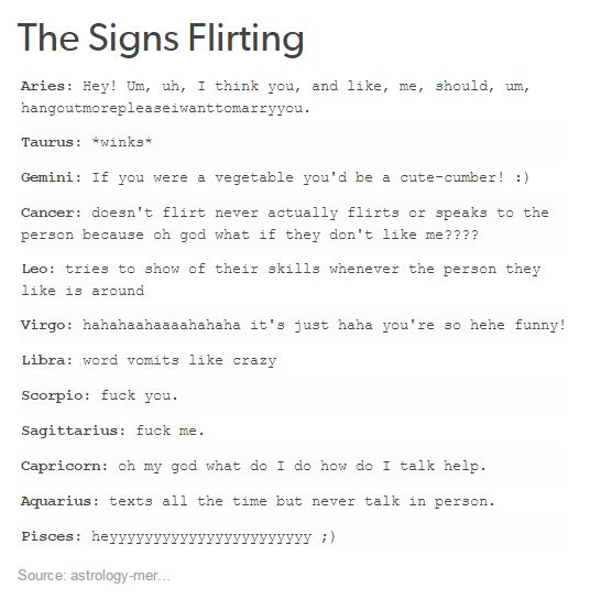 flirt with capricorn woman and walk away