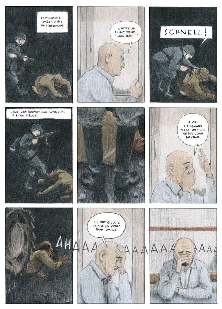 Le Tirailleur, de Piero Macola. Editions Futuropolis