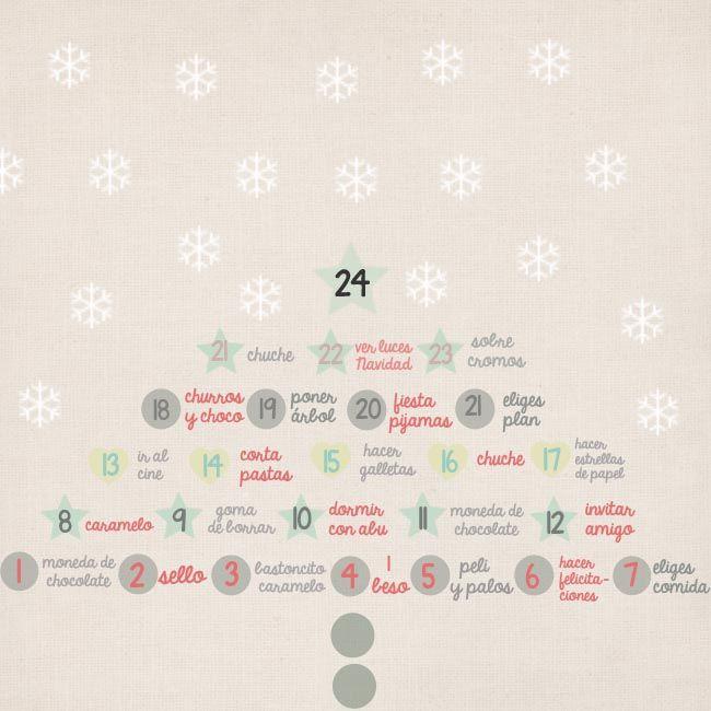 #24enelcalendario. qué meter dentro.