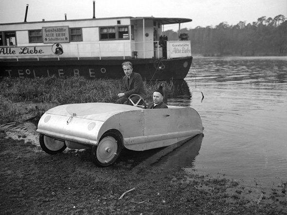 Amphibious Car weird inventions technology