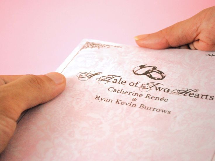 A personal wedding ceremony booklet helps wedding guests feel like part of the ceremony. A personal wedding ceremony booklet, often referred to as a wedding program or wedding bulletin, includes information about the bride and groom,...