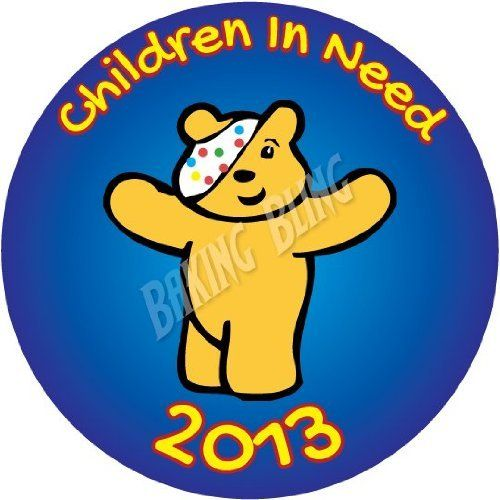Pudsey Cake Toppers Amazon