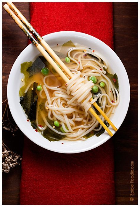 Easy Miso Udon Soup (Plus a few other soup and stew recipes) #soup ...