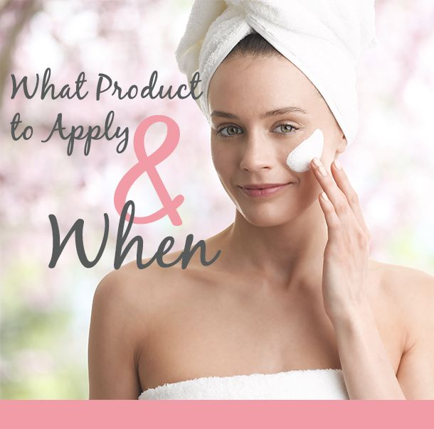 When to apply products in your skin care routine #AlchimieForever