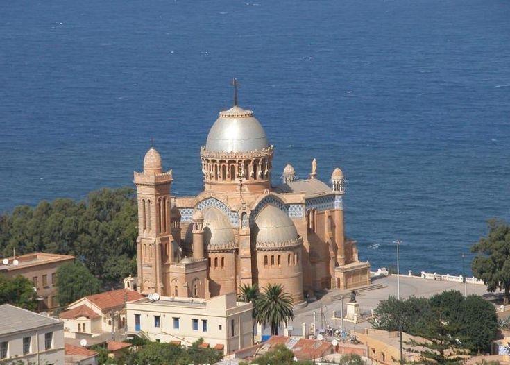 Notre Dame d'Afrique, the Roman Catholic Basilica for Algiers, Algeria