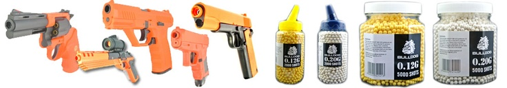 BB Gunslingers are an online retailer of Airsoft guns and BB guns including pistols, rifles, shotguns. Stockists of targets, magazines, batteries and ammo. Free shipping available.