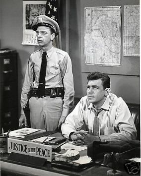 Andy Griffith Don Knotts Barney Fife Mayberry Deputy Fife Vintage Photo Great | eBay