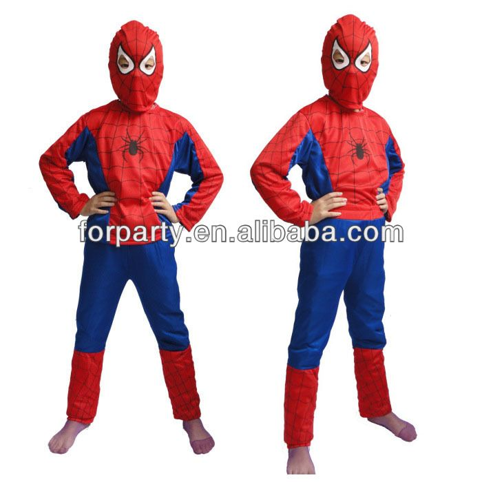 PC-0585 Promotion Spiderman costume for children Spiderman costume for kids $1.8~$1.99