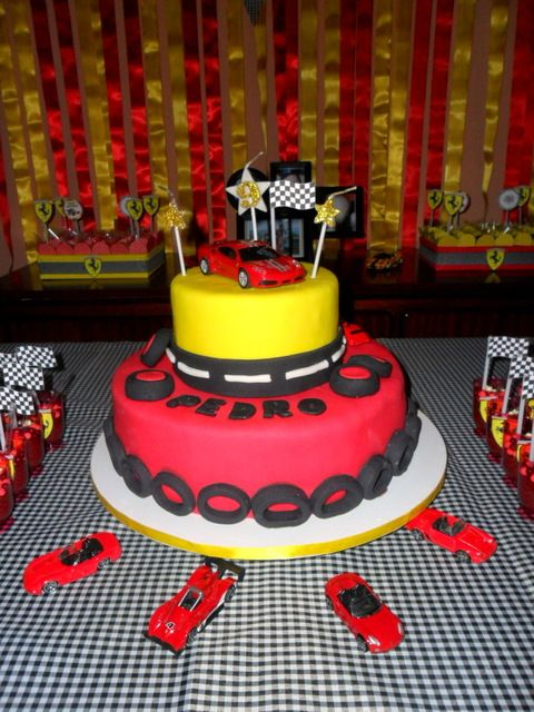 No Way !!!!!! FERRARI CAKE !!!!!!!!!!!