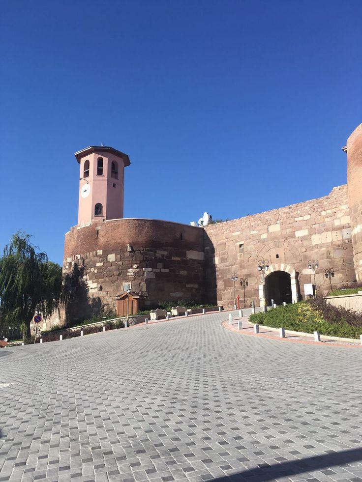 Ankara kalesi giriş kapısı..❤️❤️