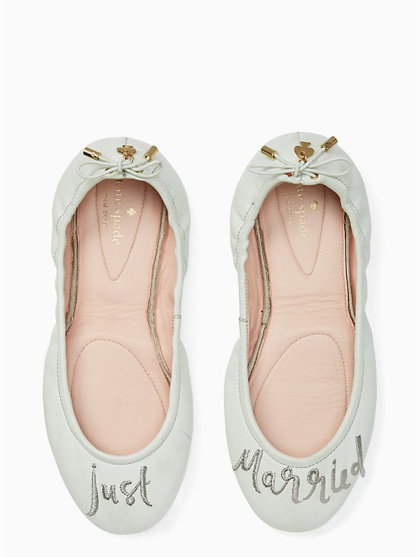 068ef788f83e19 Kate Spade Just Married Flats