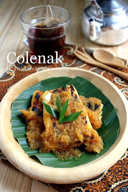 Colenak / Grilled Fermented Casava with Brown Sugar Sauce | Cooking With Love