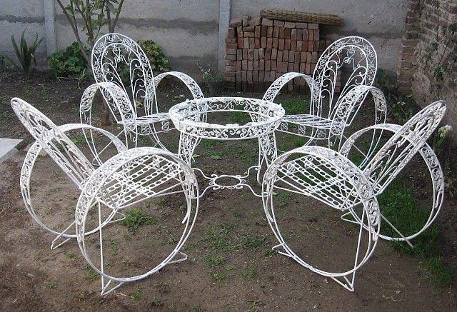 sillas de jardin antiguas - Buscar con Google