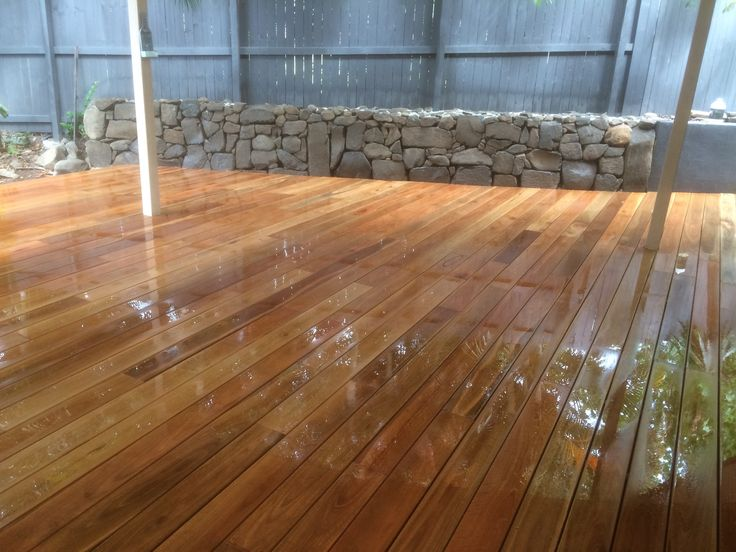 Peter Smith Landscapes Project Photos Landscape Projects Spotted Gum Decking Feature Wall