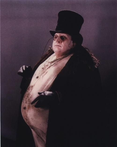 N°9 - Danny DeVito as Oswald Cobblepot / Penguin - Batman Returns by Tim Burton - 1992