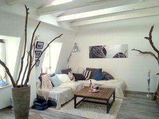 MODERNES LOFT in Weißer Hirsch: 1 Schlafzimmer, für bis zu 3 Personen. Loft im Turmhaus am Weißen Hirsch *** Massagen zubuchbar | FeWo-direkt