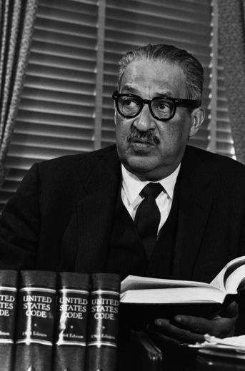 Thurgood Marshall-The former Supreme Court Justice was a proud member of Alpha Phi Alpha fraternity.