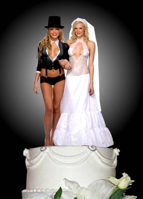Casual Wedding Attire For Bride And Groom