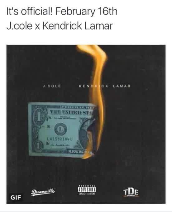 J Cole and Kendrick Lamar