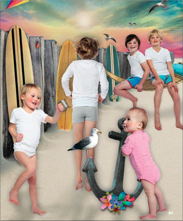 Surfer babies