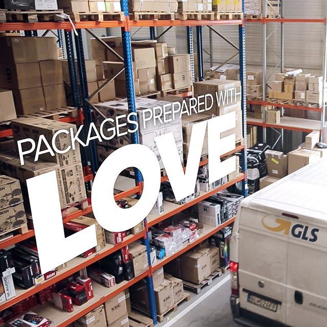 #muziker #warehouse #package #gls #delivery