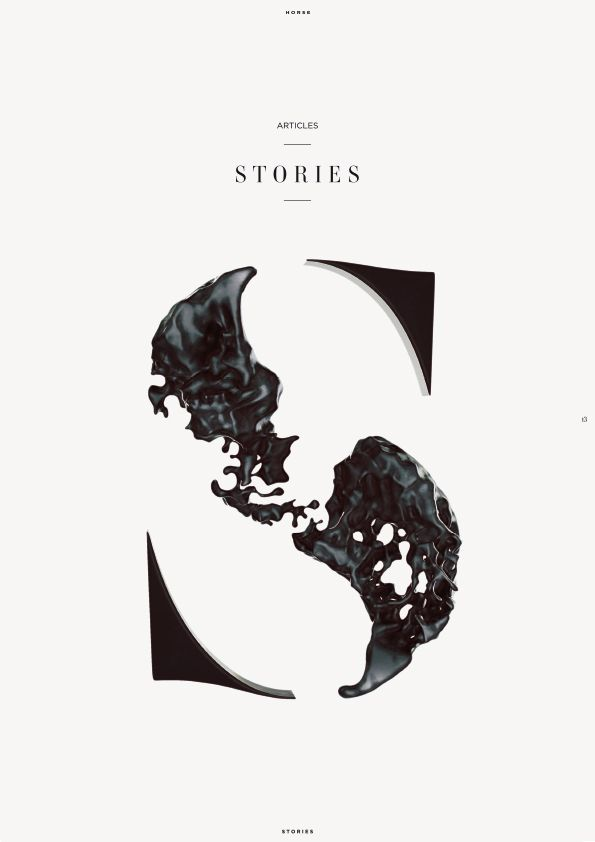 "TiP • What a great logo, very modern, very cool. Maybe a little too serious for TiP but definitely a cool way to interpret ""Stories"""