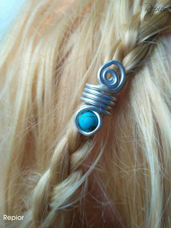 Mira este artículo en mi tienda de Etsy: https://www.etsy.com/es/listing/516489695/cuenta-vikinga-accesorio-para-el-pelo