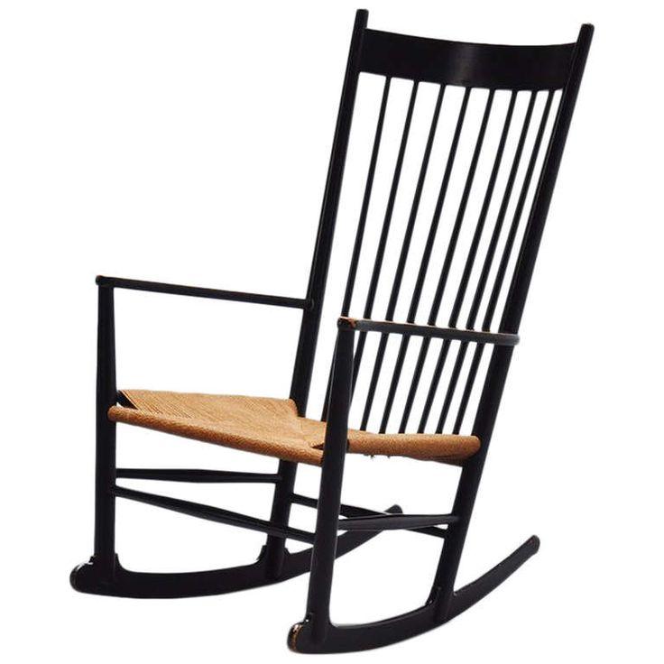 Hans Wegner J16 Rocking Chair For FDB Mobler, Denmark, 1962