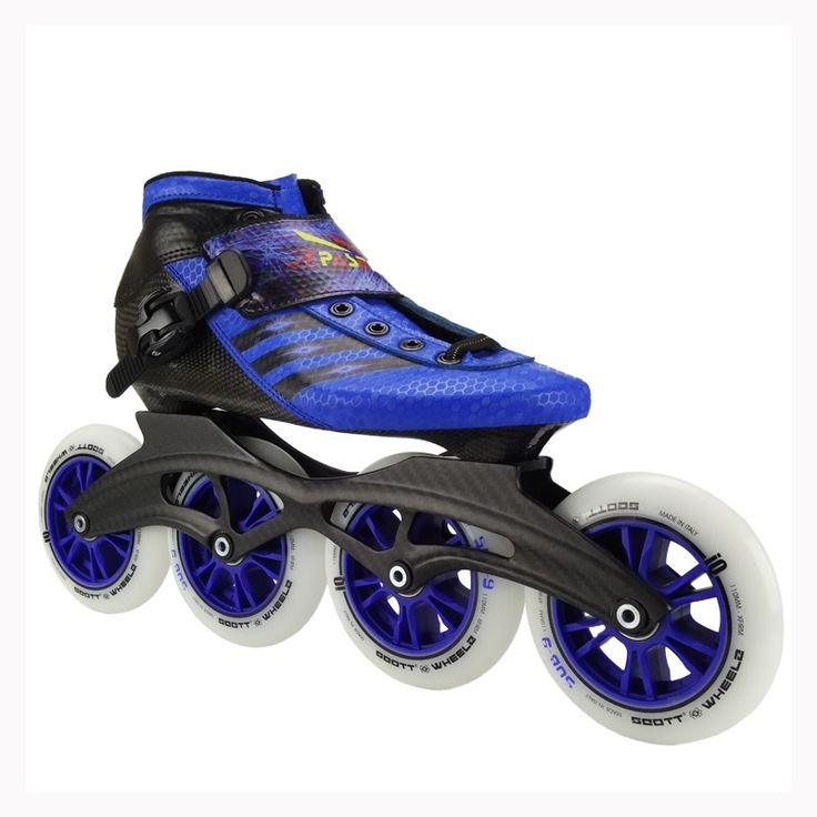 437.75$  Watch more here - http://aijpq.worlditems.win/all/product.php?id=32760020374 - PASENDI Professional Kids inline speed skate Adults roller skate boots speed skating shoes big round wheels
