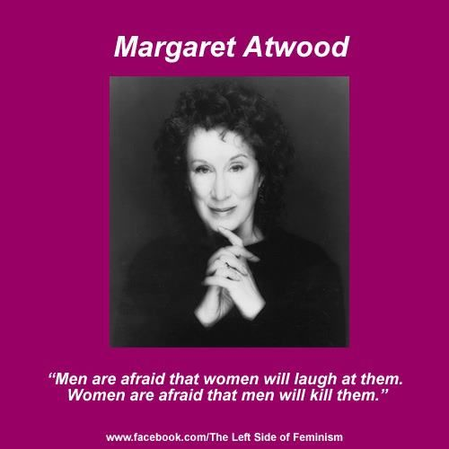 margaret atwoods fight for the female rights Margaret atwood is speaking at the british  a dystopian future in which women are deprived of all rights and turned into  in fight vs plastic.