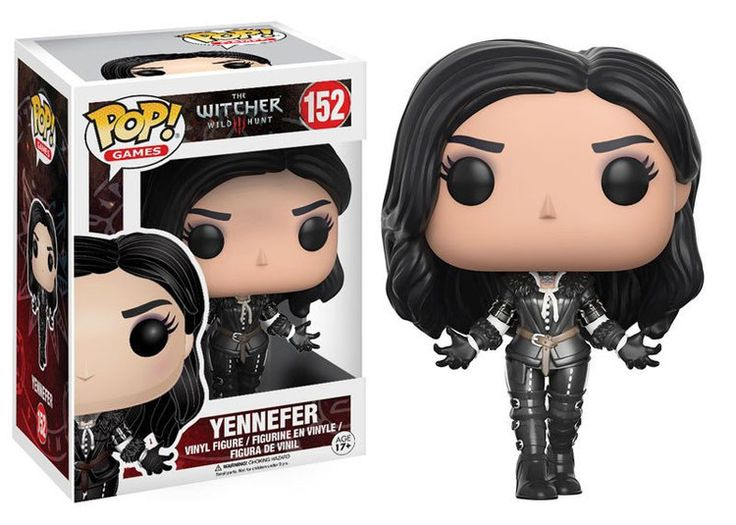 The Witcher POP! Games Vinyl Figur Yennefer 9 cm