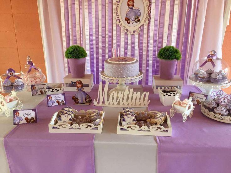 Princess Sofia Birthday Party Ideas