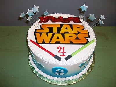 Sandra's Cakes: Star Wars Birthday Cake