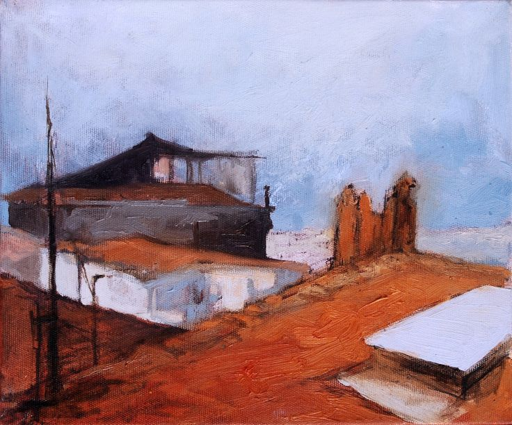 2008 / 25 x 30 cm. Tual üzerine yağlıboya / oilon canvas