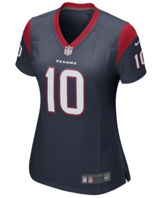Nike Women's Deandre Hopkins Houston Texans Game Jersey - Navy/Red XL