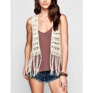 crochet vest outfit ideas - Google Search