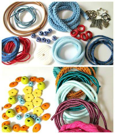 O & N Cords, Beads, and Pendants Bundle