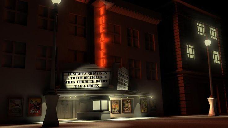 Glowey Movie Theater by JGtotheMAX.deviantart.com on @deviantART