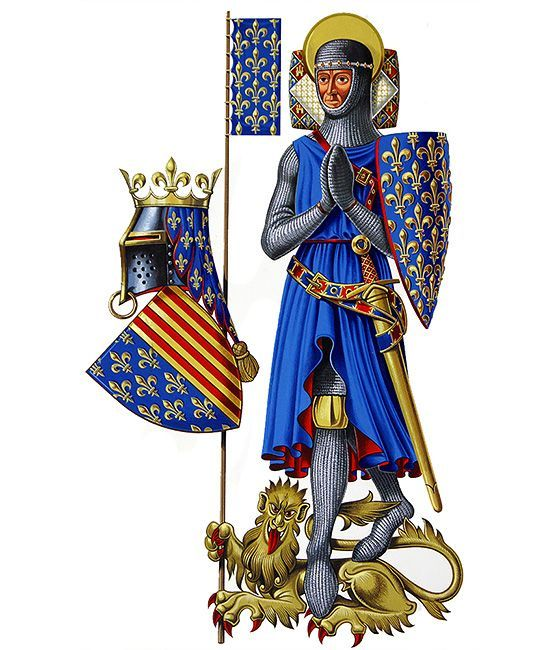 Did you know that Blue was not a popular color in Europe at the time of the Early Middle Age? Black, White, Red were the most liked colors.  >> The first King who started using Blue for his Coat of Arm was King Saint Louis in the middle of the 13th century, helping to get Blue to be recognized!    Find out more about us at bleudecocagne.com